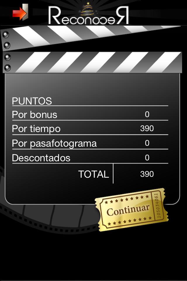 Screenshot Reconocer Películas Free